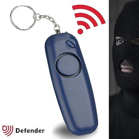 Alarma Personal Defender qubz Police aprobado 130dBs ...