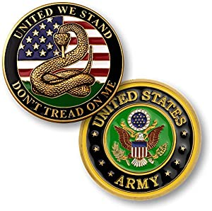 Northwest Territorial Mint Don't Tread on Me - Army Challenge Coin