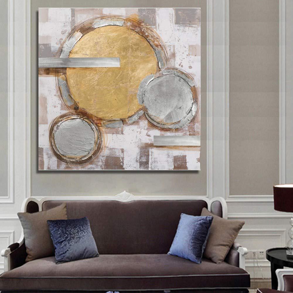 WHUI pintura al óleo 100% Pintado Mano A Mano Pintado Sin Marco Abstracto Colorido Pintura Al Óleo En Lienzo Arte de la Pared Sala de estar Dormitorio Oficina en casa Ornamento 7b980c