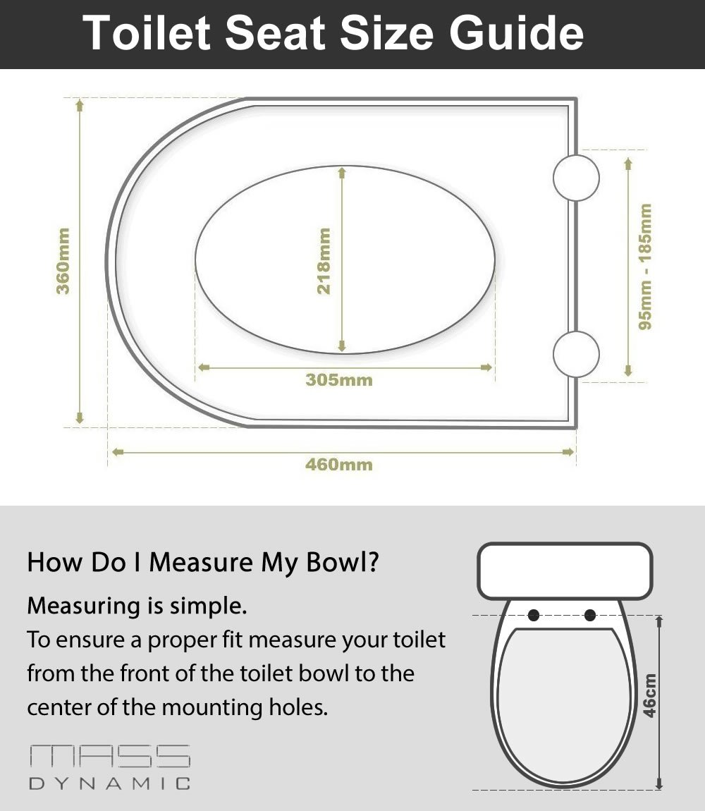 Toilet Seat Sizes Uk. Toilet Seat Soft Close Quick Release D Shaped White  UF Urea Formaldehyde Material Dual Fixing System Amazon co uk DIY Tools