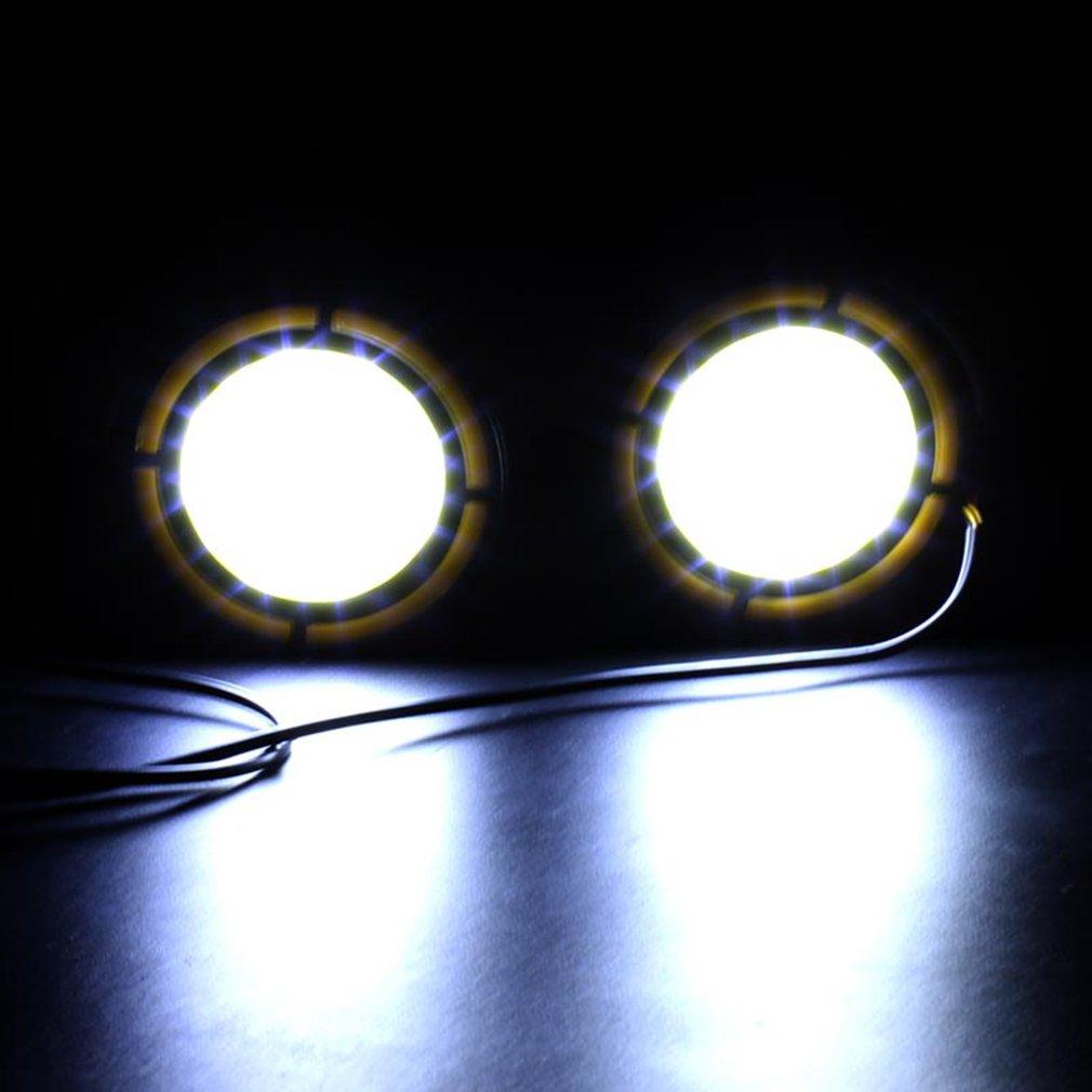 YTYC LED 12V COB Strip Lamp Fog Car Daytimes Running Lights 12W Waterproof by YTYC