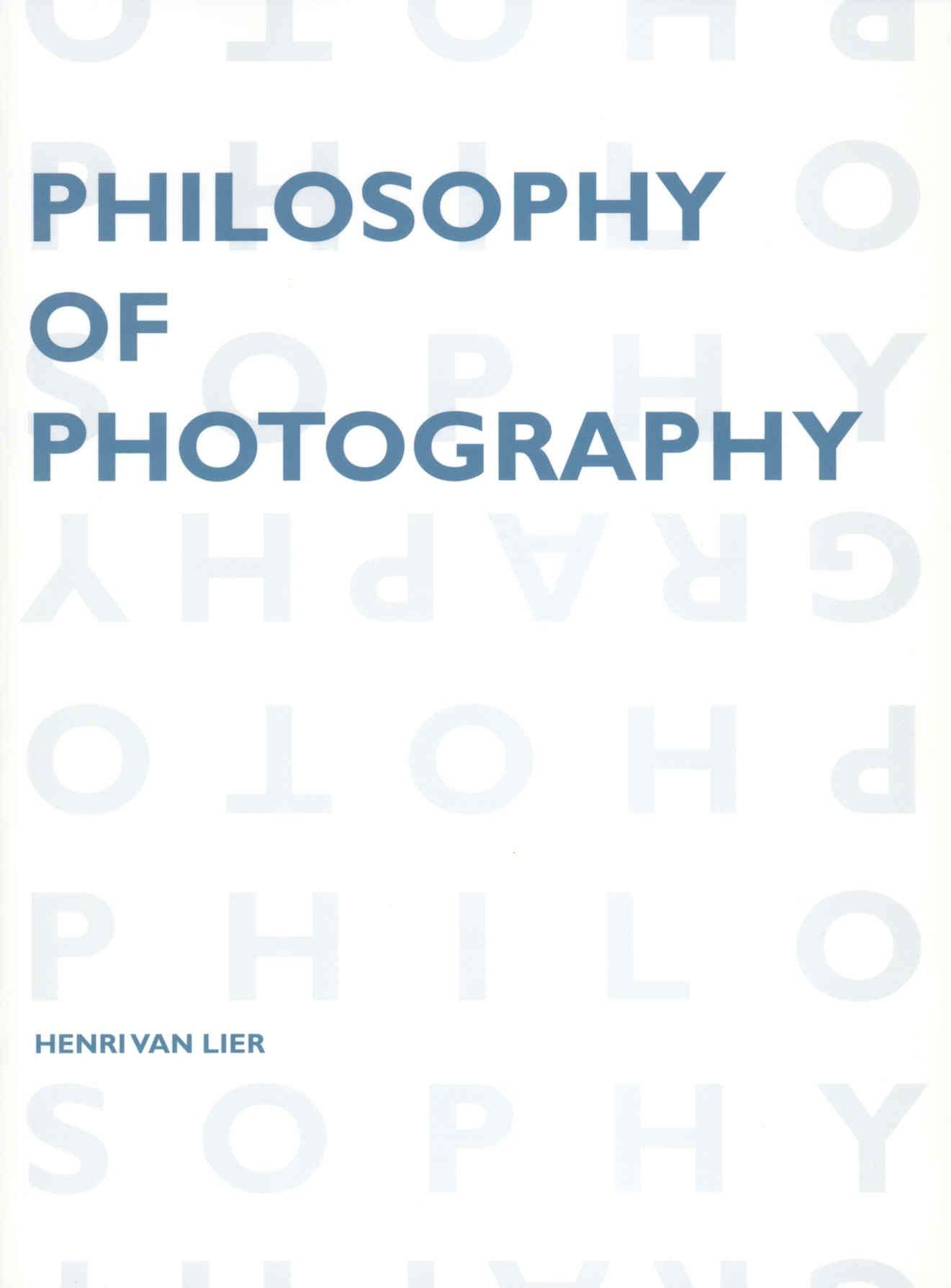 Download Philosophy of Photography (Lieven Gevaert Series) pdf
