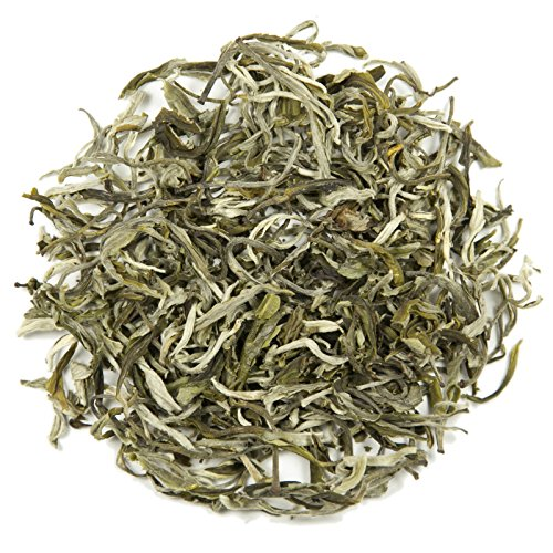 Mao Feng Loose Leaf Chinese Tea - Hong Kong Tea Company Sourced Premium AAA Grade Ultra-Fine Green Tea - 2oz -