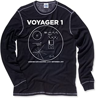 product image for Hank Player U.S.A. NASA Voyager 1 Men's Thermal T-Shirt
