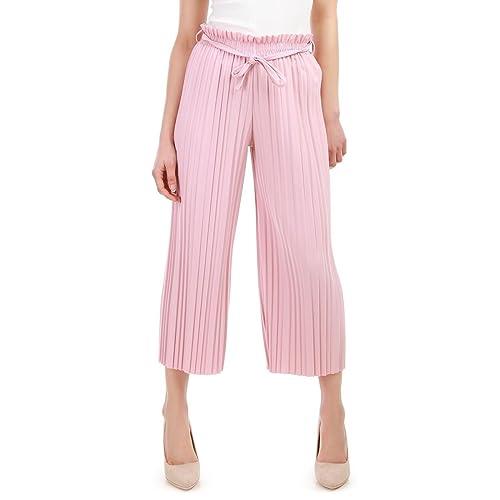 La Modeuse - Pantalón - para mujer Rose Talla única