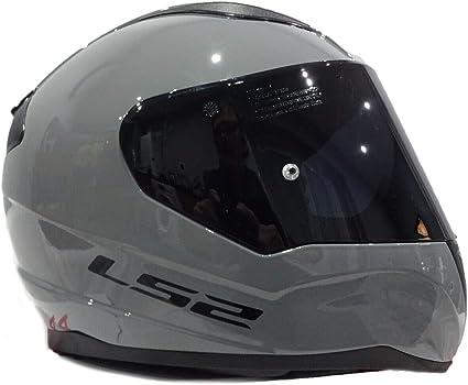 Amazon.es: LS2 FF353 RAPID - Casco integral para moto, con visera oscura, color gris