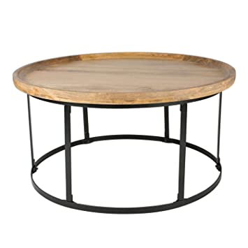 Oak Round Coffee Table Uk 3