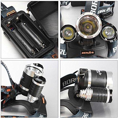 Frontale 6000 Puissante Rechargeable Et Boruit Ultra Lampe Etanche kiuXPZ