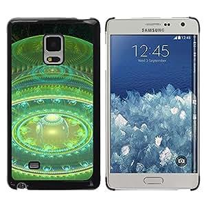 "KOKO CASE / Samsung Galaxy Mega 5.8 9150 9152 / le temps de l'univers de l'espace"" / Delgado Negro Plástico caso cubierta Shell Armor Funda Case Cover"
