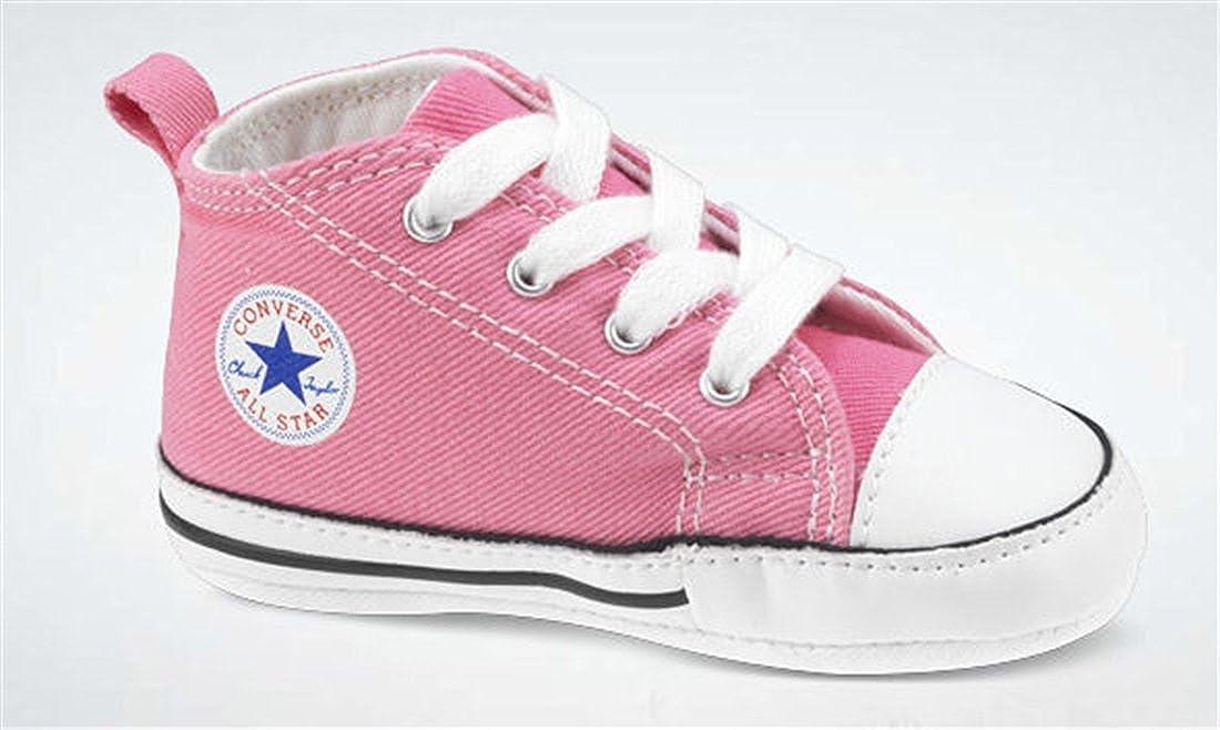 8e57f0b4da44e Amazon.com | Converse First Star Crib Shoes - Pink - UK 4 | Sneakers