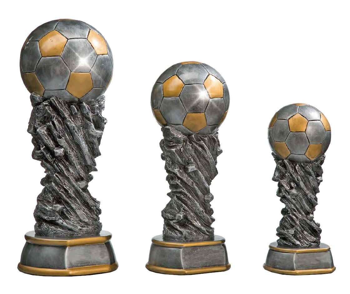 Sportland Fu/ßball Welt Pokal aus Resin S.B.J