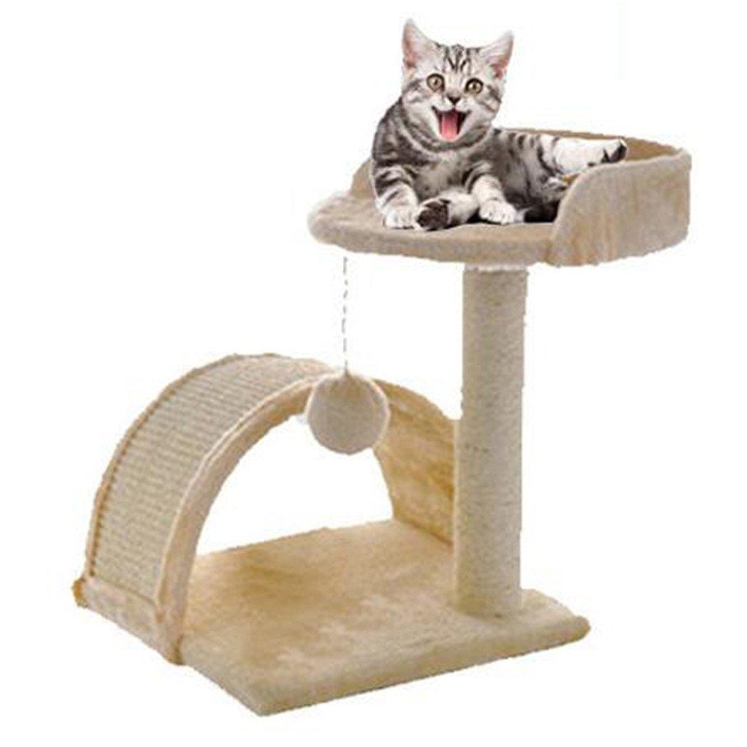 Árbol de Gato, Legendog Cat Climbing Tree Árbol de Actividad de Gatito Felpa Bon Scratching Post para Kitten Pet: Amazon.es: Productos para mascotas