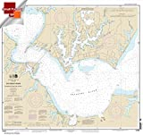NOAA Chart 12284: Patuxent River Solomons lsland and Vicinity 21.00 x 22.21 (SMALL FORMAT WATERPROOF)