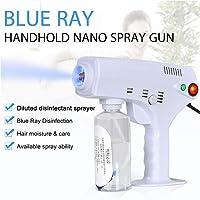 260ML Disinfection Spray Machine, Electric ULV Sprayer, Portable Nano Steam Gun Hair Face Steamer Ultra Fine Aerosol Water Mist Trigger Sprayer for Office, Home and Beauty Salon