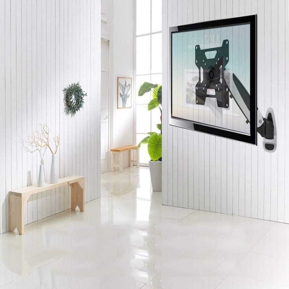 Soporte de TV 13-42 pulgadas de TV Escuadra de pared multifunción de pared telescópica giratoria LCD de pantalla simple soporte de monitor de TV en bastidor LCD montado en la pared de