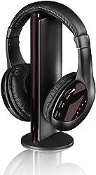 Itek I71002B Fauteuil de Gaming Bluetooth avec connectivit/é multijoueur Noir