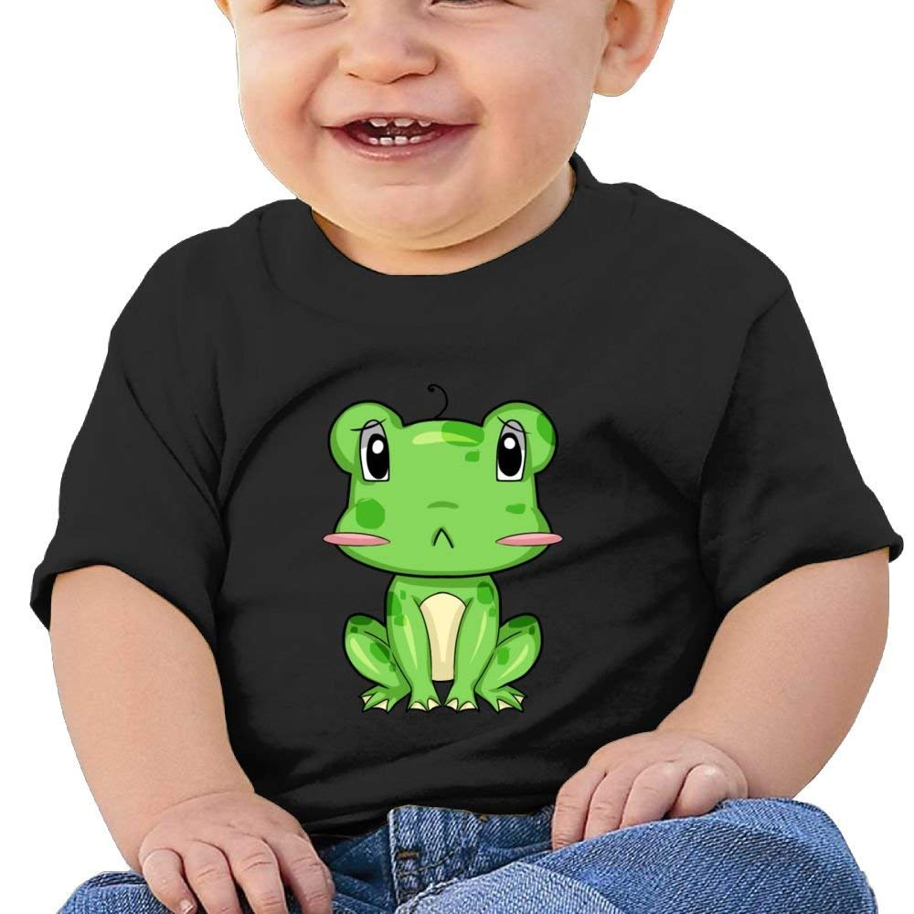 Moniery Cute Short-Sleeves T Shirt Funny Little Frog Birthday Day Baby Boy Kids