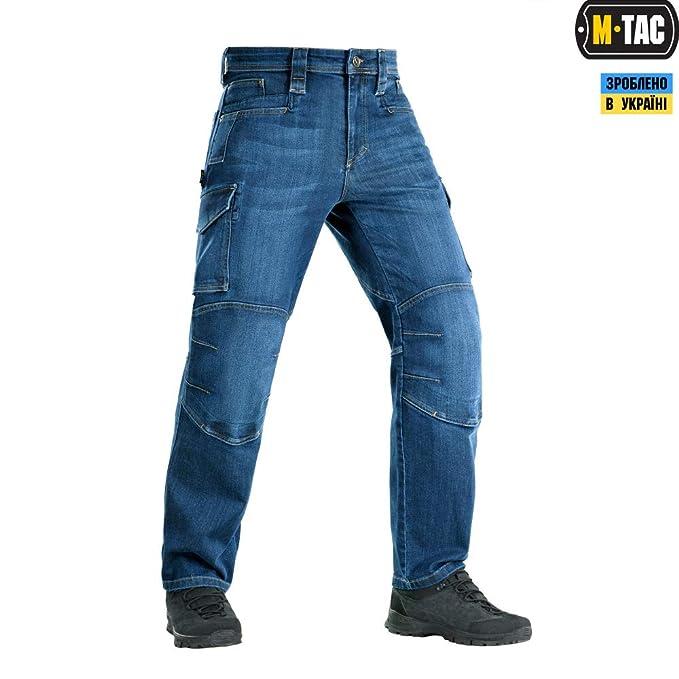 Amazon.com: M-Tac Pantalones tácticos para hombre Cargo ...