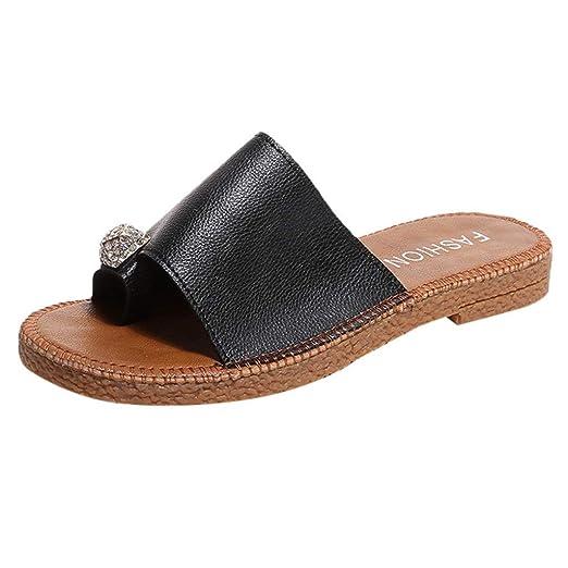 0e71d94df Women s Platform Espadrilles Criss Cross Slide-on Open Toe Faux Leather  Summer Sandals Black