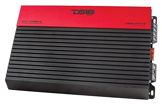 DS18 SLC-X2250.1D Select Series 1 Channel Class D Monoblock Amplifier - 2250