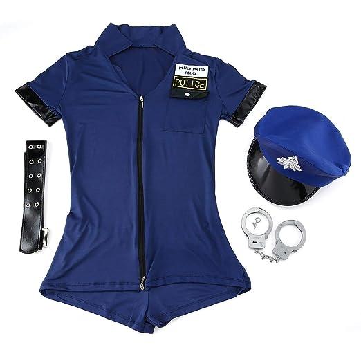 Dailyinshop Mujer policía Atractiva de la tentación del Juego ...