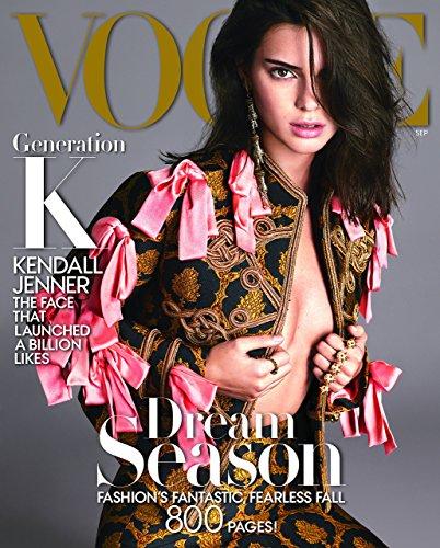 Vogue Magazine  September  2016  Kendall Jenner Cover