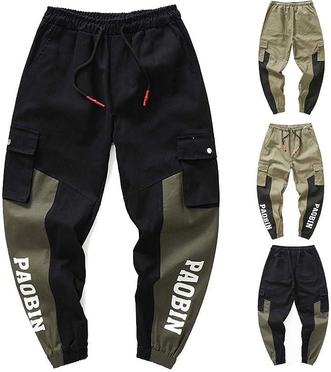 Da Uomo Active Elasticizzata Pantaloni Pantaloni Chino Dritti Formale Lavoro Cotone Casual