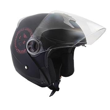 Casco para moto scooter de ciudad, LS-270, con doble pantalla solar,