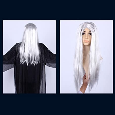 Amazon.com: Huphoon Creative Happy Halloween Party Hair Household Artificial Room Decor Terror Wig Headwear: Beauty