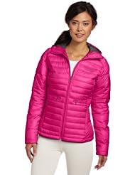 哥伦比亚 Columbia 美女 防水排骨保暖连帽棉服 紫色折后$62.36