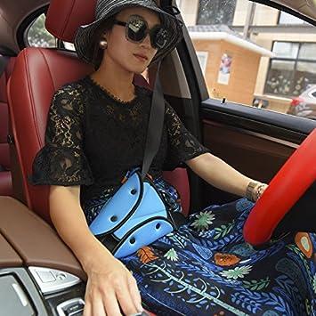 1x Children kids car safety seat belt fixator triangle harness strap adjustNYFK