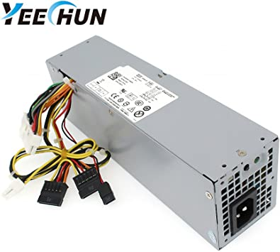 240W Power Supply Unit Fits Dell OptiPlex 390 790 960 990 3010 9010 Small Form Factor System SFF H240AS-00 H240AS-01 H240ES-00 D240ES-00 AC240AS-00 AC240ES-00 L240AS-00 3WN11 PH3C2 2TXYM 709MT