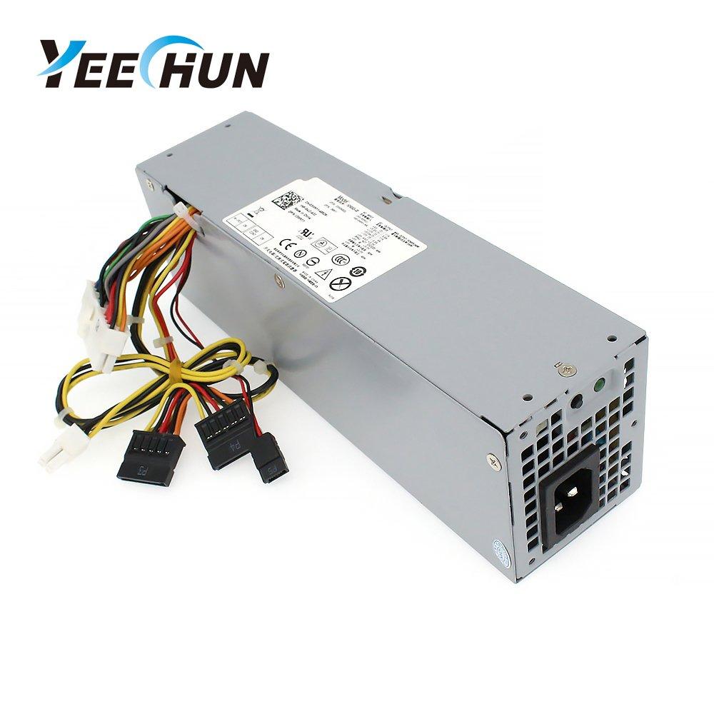 YEECHUN 240W NEW Power Supply for Dell OptiPlex 390 790 960 990 3010 7010 9010 Small Form Factor SFF H240ES-00 D240ES-00 AC240AS-00 AC240ES-00 DPS-240WB L240AS-00 H240AS-00 3WN11 - 180 Days Warranty!