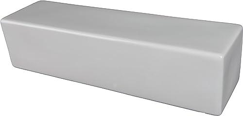 Modern 12 Ceramic Shampoo Shelf Tile
