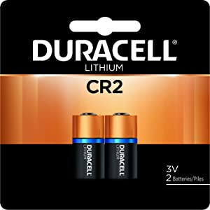Duracell - CR2 3V Ultra Lithium Photo Size Battery - long lasting battery - 1 count