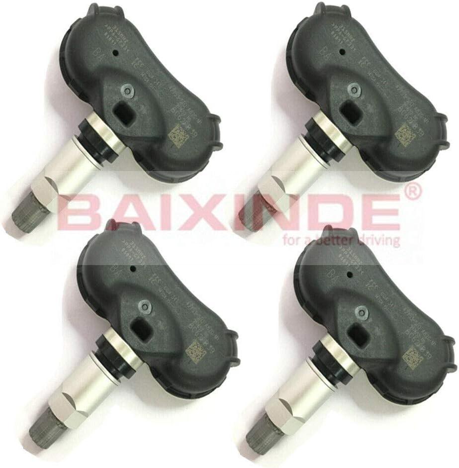 BAIXINDE 4X New TPMS Tire Pressure Sensor 42753-SHJ-A820-M1 42753-SHJ-A820 for Honda Odyssey Element TS-HN02