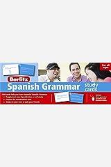 Spanish Grammar Study Cards