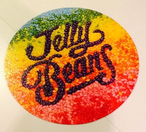 "Vintage Circular Authentic Springbok Puzzle ~ ""To Bean or Not to Bean"" ~ 500 Piece ~ 20 3/8"" Diameter from Springbok"