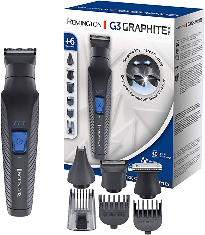 Remington G3 Graphite Series PG3000 - Set Recortador de Barba y ...