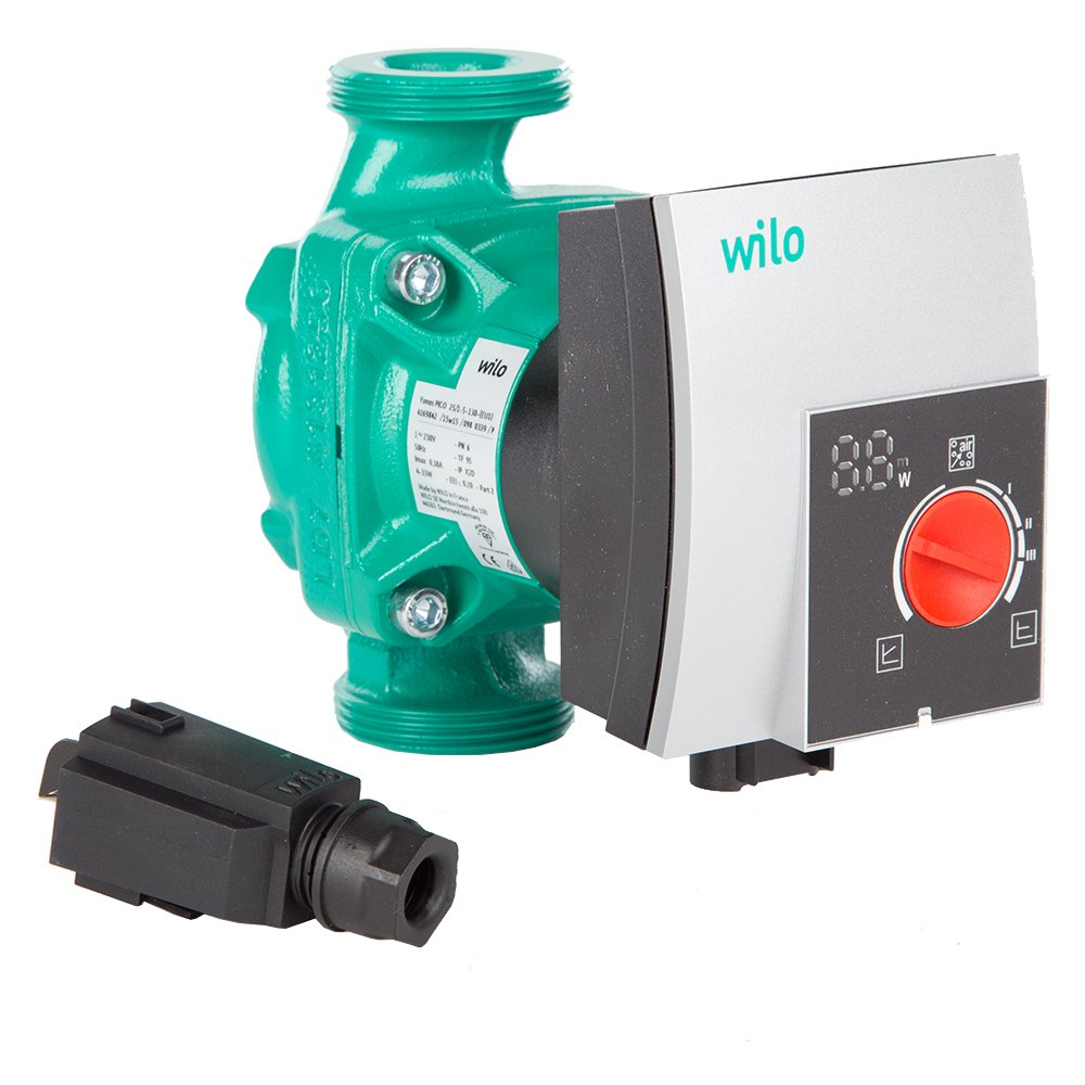 Wilo 4169842 Glandless Circulator, 249 V, Green: Amazon.co.uk: DIY ...