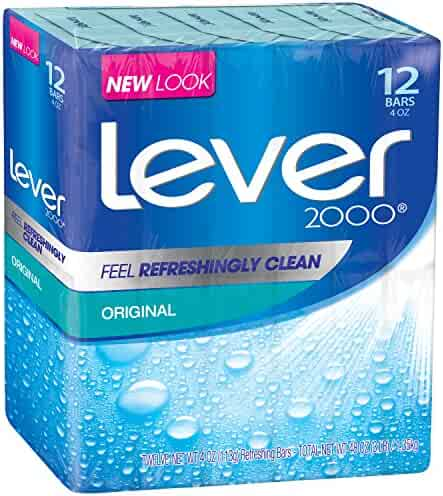 Lever 2000 Bar Soap, Original 4 oz, 24 bar
