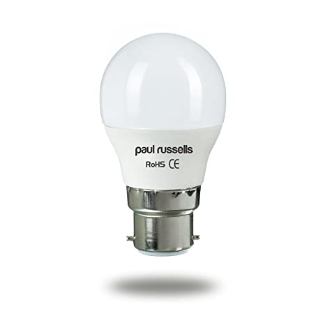 3 Pack 5 W bombillas LED B22 BC bayoneta Paul Russells brillante 5 W=40