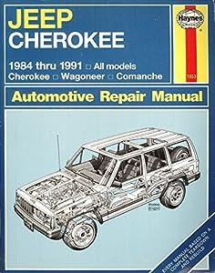 Paperback Haynes Jeep Cherokee, 1984-1991 Book
