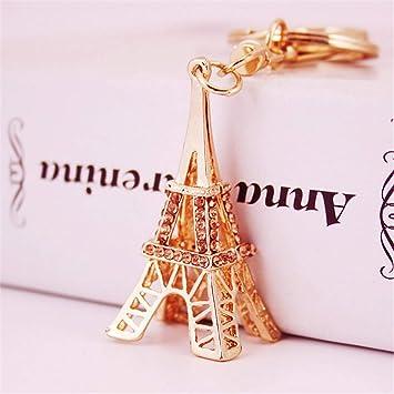JewelBeauty - Llavero con diseño de la Torre Eiffel en 3D ...