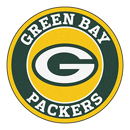 - FANMATS 17959 NFL Green Bay Packers Roundel Mat