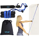 Vive Shoulder Pulley - Over Door Rehab Exerciser for Rotator Cuff Recovery - Arm Rehabilitation Exercise System for…