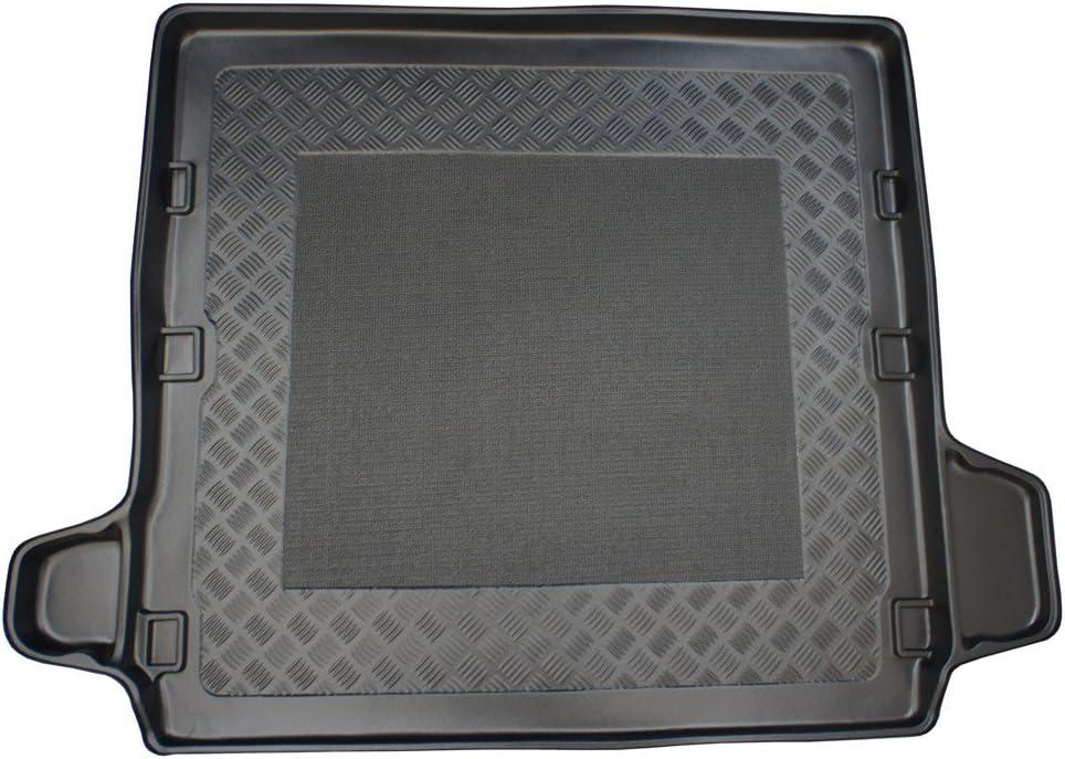 ZentimeX 4050319027638 Kofferraumwanne mit Antirutschmatte