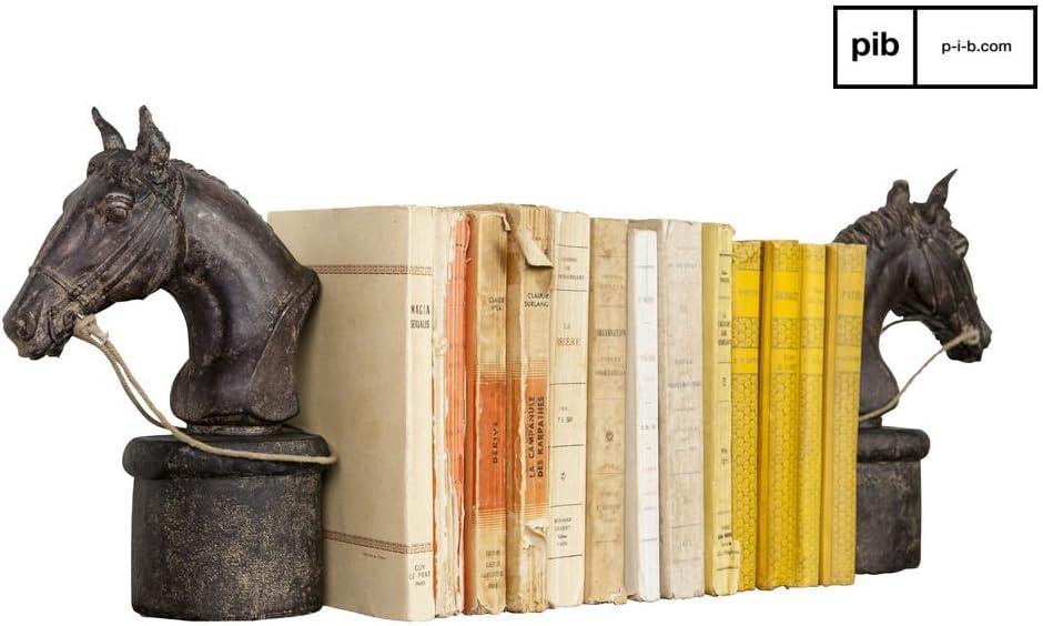 Otros Accesorios Sujeta Libros en Forma de Caballo DELE un Sutil Toque Retro a Sus Libros Chehoma pib