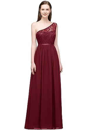 Women Lace Bridesmaid Dress Sleeveless Maxi Evening Prom
