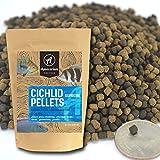 YFS Cichlid Supreme Sinking Pellets 3.0mm Bulk Aquarium Fish Food (1 pound)